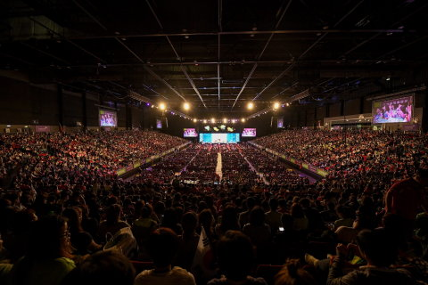 9,000 Herbalife Nutrition members participated in Asia Pacific Extravaganza for North Asia, held from June 16 to 18 in Hong Kong. (Photo: Business Wire)