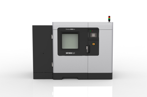 A new edition of the Fortus 900mc Production 3D Printer is featured in Stratasys' new Aircraft Interiors Certification Solution (Photo: Business Wire)