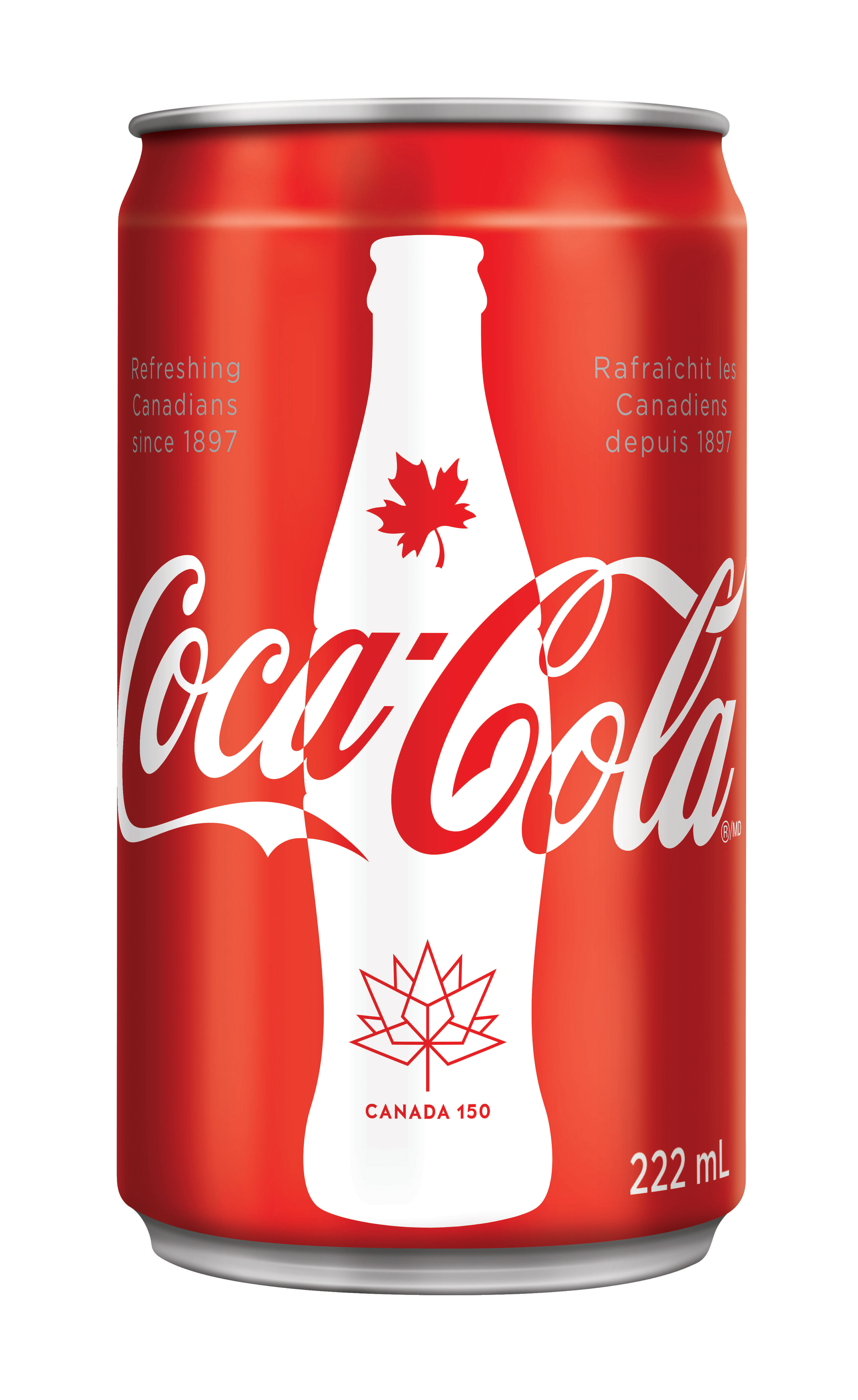 This summer, Canadians will be able to toast to Canada with commemorative 222 mL mini cans of ice-cold Coca-Cola honouring Canada's heritage. (Photo: Business Wire)