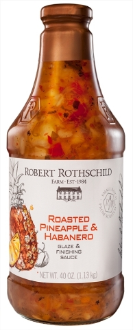 Roasted Pineapple and Habanero Sauce is one of many of Rothschild Farm's popular line of gourmet sauces, dips and spreads. (Photo: Business Wire)