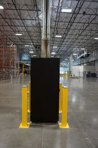 CPI's RMR® Modular Enclosure in one of AmerisourceBergen's distribution centers. (Photo: Business Wi ...