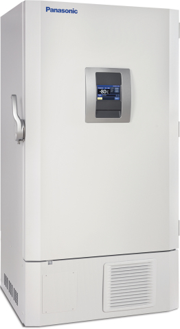 The Panasonic Healthcare VIP ECO Model MDF-DU702VH-PA ultra-low temperature freezer integrates natural refrigerants, smart compressors and intelligent controls to lower operating costs without compromising reliability and performance. (Photo: Business Wire)