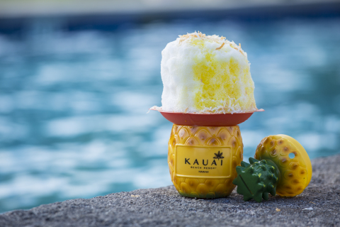Summer Bites: Kauai's Only Boozy Shave Ice is Hidden in This Hotel -  Ko Shave Ice – a hidden stand located poolside at Aqua Kauai Beach Resort – is Kauai's only boozy shave ice shop that features a signature adult Piña Colada and Mai Tai shave ice with Koloa Rum. (Photo: Business Wire)