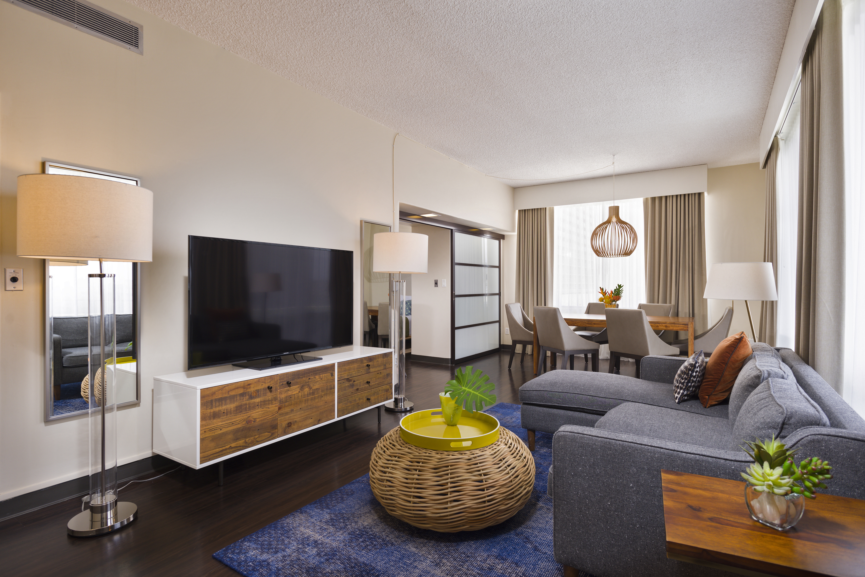 Hotel Penthouse Gets in Bed with AirBnB - Airbnb consumers seeking one-of-a-kind lodging options now have access to the unique Aqua Ohia Waikiki's ocean view 2-bed, 2-bath penthouse complete with a wraparound balcony and outdoors deck. (Photo: Business Wire)