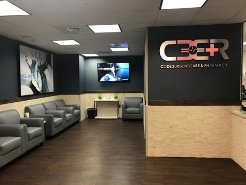 Code 3 Urgent Care & Pharmacy Inside McCarran International Airport, Terminal 1, Level 2, Next to TSA A/B Checkpoint. (Photo: Business Wire)