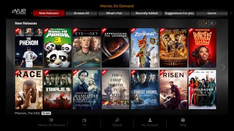 Evolution Digital's eVUE-TV IPTV Platform (Photo: Business Wire)