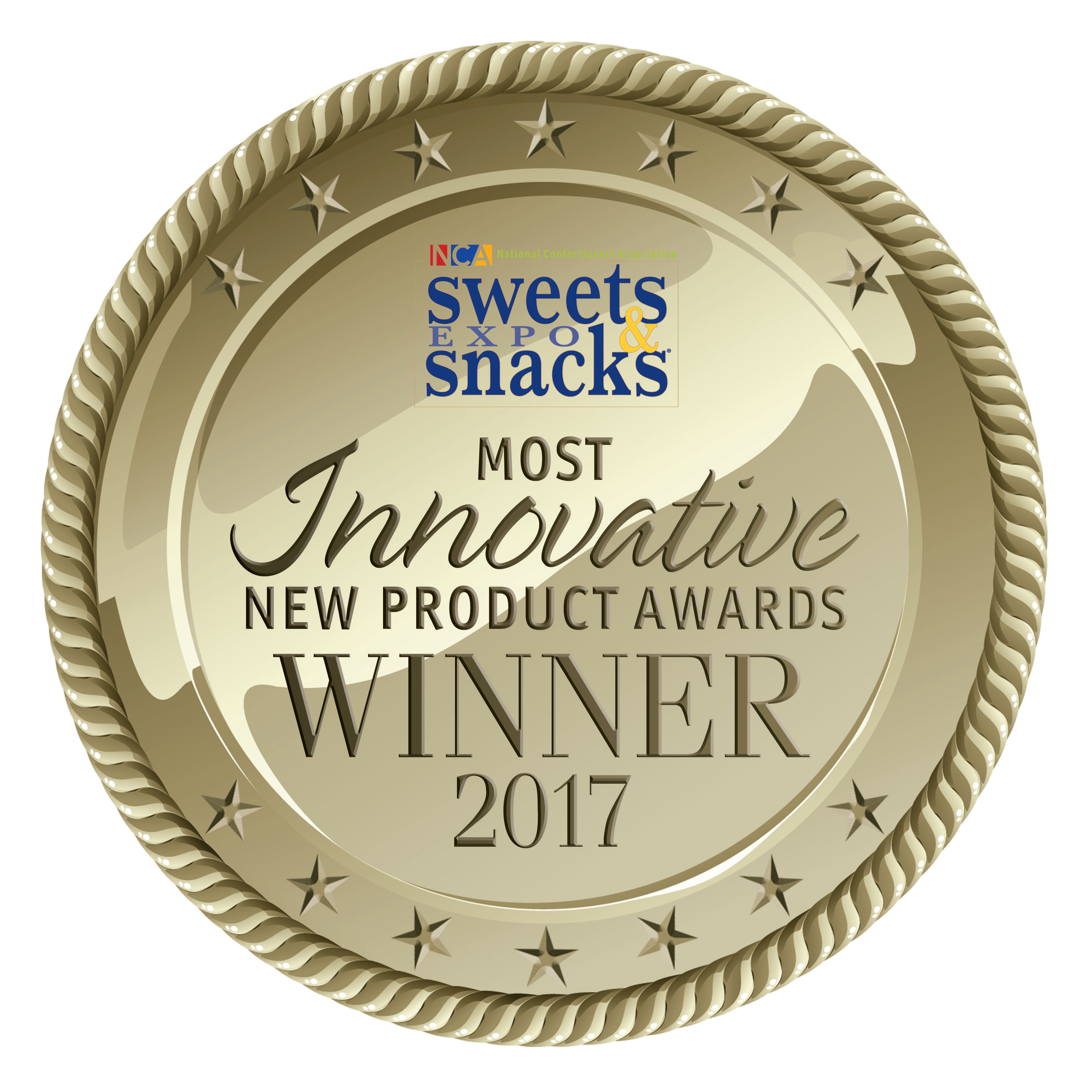 Winner of the 2017 National Confectioners Association Most Innovative New Product in the Sweet Snacks category (Graphic: Business Wire)