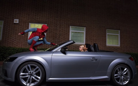 New Audi A8 to Make Its Debut in 'Spider-Man: Homecoming' (Photo: Business Wire)