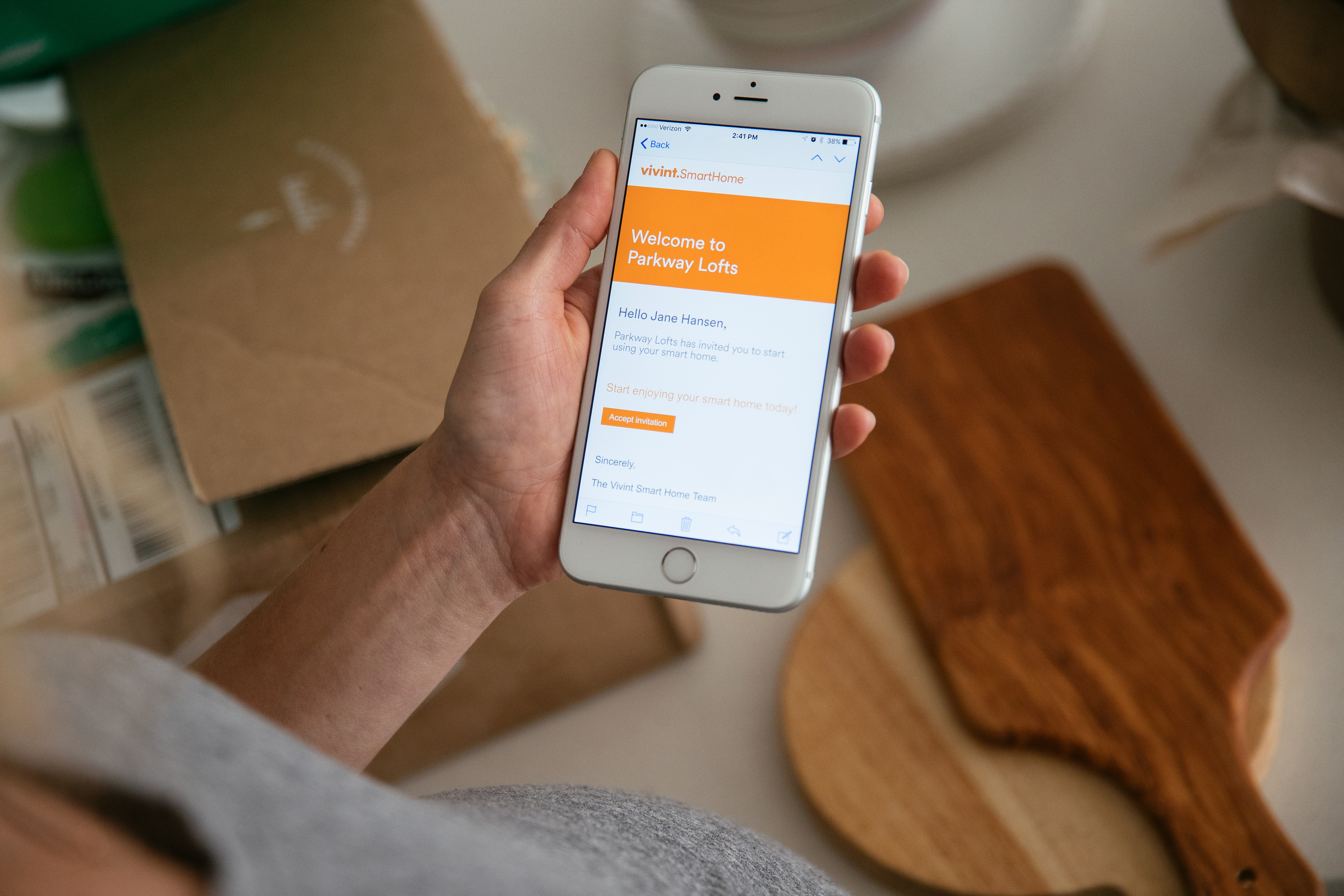 Renters can manage their smart apartment from a single app. (Photo: Business Wire)