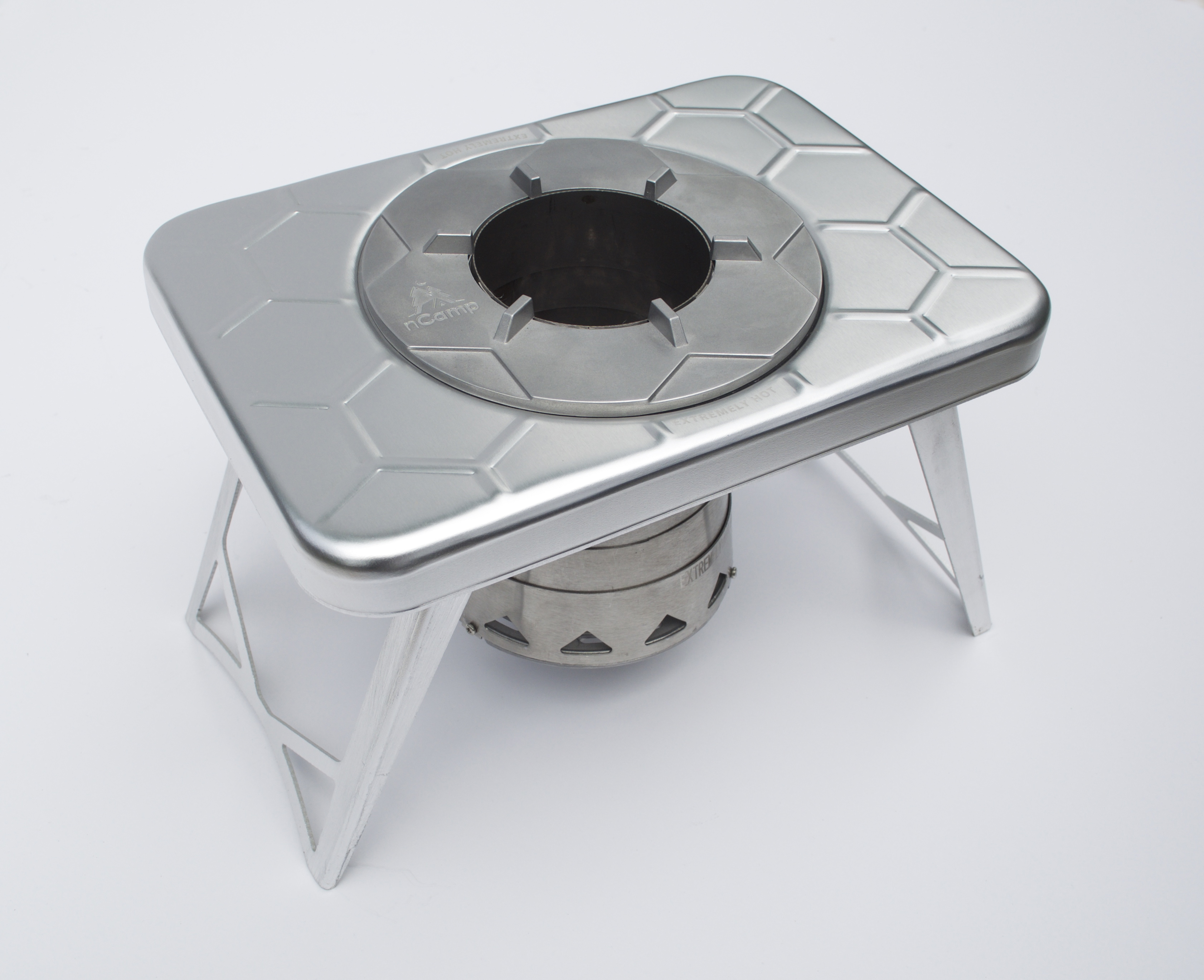 nCamp Launches Compact Wood-Burning Camp Stove | Business Wire