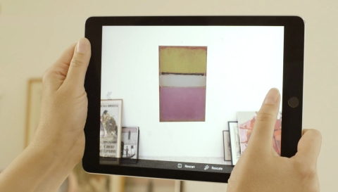 VisualCommerce™ Mobile solution, now featuring single-camera wall placement (Photo: Business Wire)