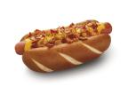 Cheesy Bacon Pretzel Dog (Photo: Business Wire)