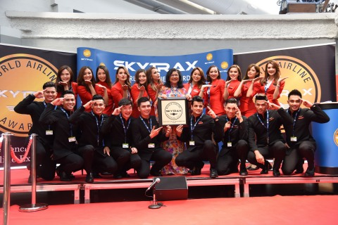 AirAsia is named World's Best Low-Cost Airline for the ninth year in a row. (Photo: Business Wire)