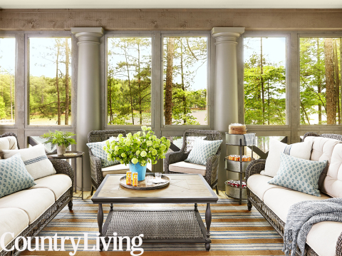 Country Living Lake House Of The Year Living Room (Photo: Business Wire)