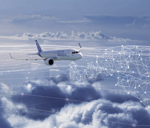 The FOMAX solution from Rockwell Collins will digitally connect aircraft and operators for more efficient operations (Photo: Business Wire).