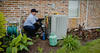 B-roll: The rising cost of the refrigerant R22 coupled with rising temperatures will leave many homeowners paying more for AC repair this summer.