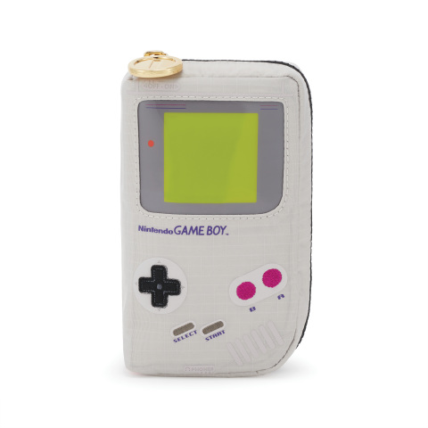 Complementing the collection are five additional items, including an authentic pouch shaped like the Game Boy system, a round Piranha Plant pouch, and a Super Mario Bros. cosmetic. (Photo: Business Wire)