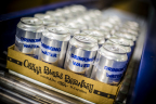 CAN'd Aid Water Cans from Ball Corporation. CAN'ed at Oskar Blues Brewery. (Photo: Business Wire)