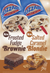 Dairy Queen's new Blizzard Treats the Frosted Fudge Brownie Blizzard Treat and Salted Caramel Blondie Blizzard Treat. (Photo: Business Wire)