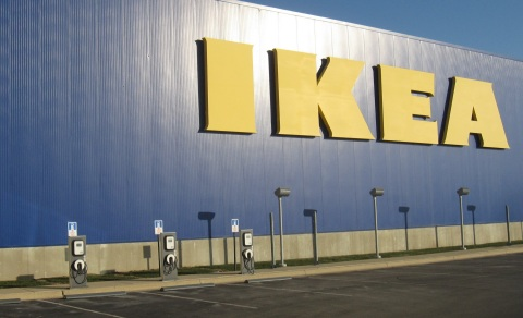 IKEA to Install 3 Electric Vehicle Charging Stations at Future Grand Prairie, TX Store Opening Fall 2017 (Photo: Business Wire)