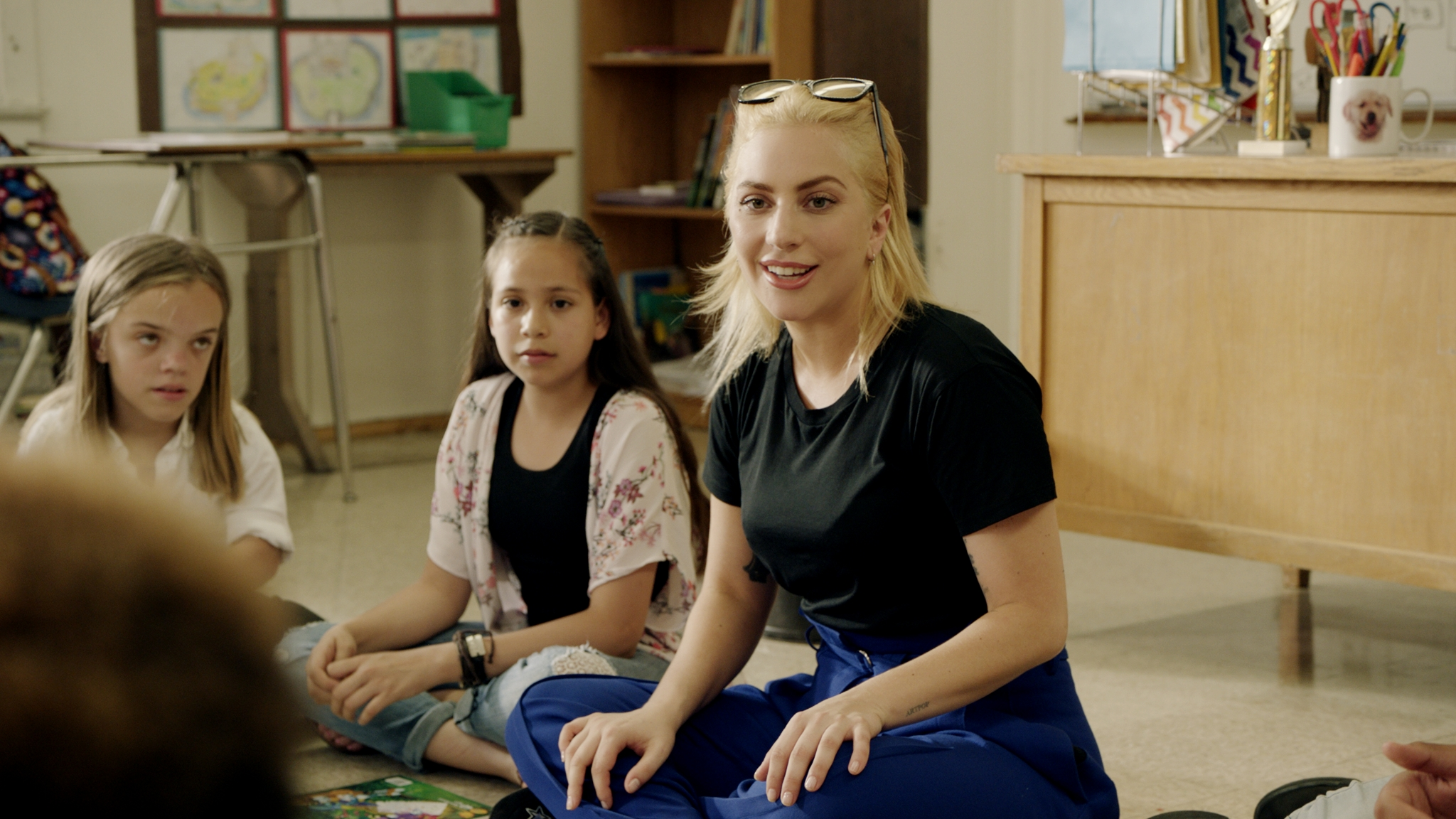 Lady Gaga Teams Up With Staples To Support Education And Inspire
