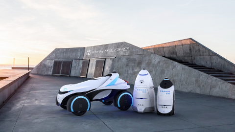 Knightscope, innovator of autonomous security robots and cars, deploys Plex Systems. (Photo Credit:  ...