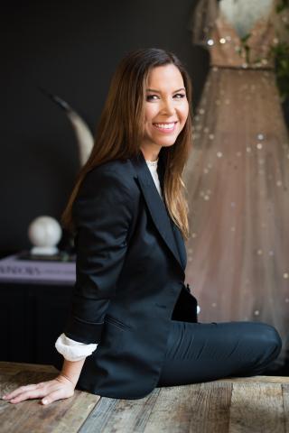 Designer, Monique Lhuillier (Photo: Business Wire)