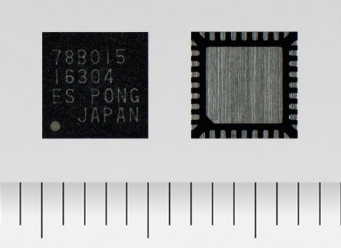 東芝:小型ファンモータ向けに、高速回転に対応した三相ブラシレスモータドライバIC、12V電源対応の「TC78B015FTG」 (写真:ビジネスワイヤ)