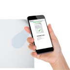 DOCS allows checking the authenticity of a document thanks to a smartphone (Photo: Arjo Solutions)