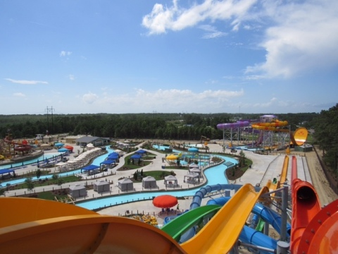H2OBX Waterpark is now open in the Outer Banks, N.C., welcoming guests to one of the most innovatively designed and uniquely located waterparks in the world. (Photo: Business Wire)