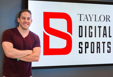 Hunter Mandel Joins Taylor As Director in its Digital Sports Group(Photo: Business Wire)