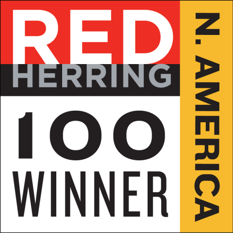 Engagio chosen as Red Herring 2017 Top 100 North America winner. (Graphic: Business Wire)
