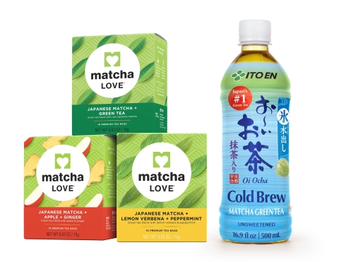 ITO EN Launches New Matcha LOVE Tea Bag Varieties and Ice-Steeped Oi Ocha Cold Brew at 2017 Summer Fancy Food Show (Photo: Business Wire)