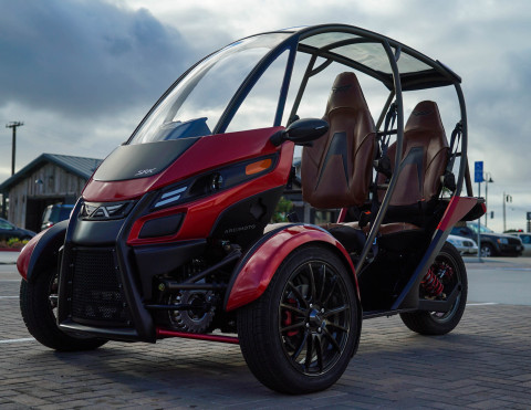 Arcimoto Files for IPO Under Reg A, with new capital to fuel final stages of breakthrough three-wheeled SRK everyday electric vehicle starting at $11,900 (Photo: Business Wire)