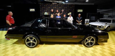 "Barrett-Jackson and Prestone are teaming up this summer for a one-of-a-kind restoration build named ""Project Prestone."" (Photo: Business Wire)"