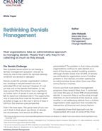 Rethinking Denials Management