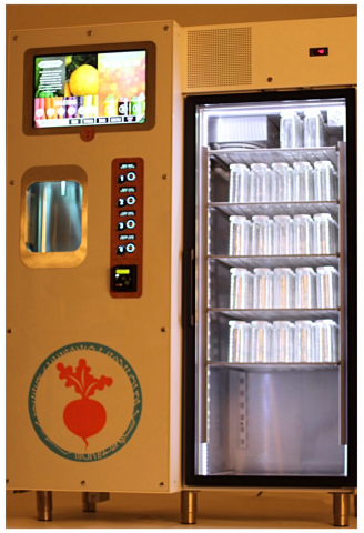 SF based JuiceBot goes cashless with USA Technologies (Photo: Business Wire)
