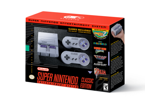 The Super Nintendo Entertainment System, Nintendo's follow-up console to the legendary Nintendo Entertainment System, launched in 1991 and introduced what many consider some of the greatest video games of all time. (Photo: Business Wire)