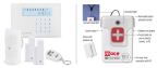 The Mace® Alert Wifi Home Security System and the Mace® Brand 911 Help Now (Photo: Business Wire)