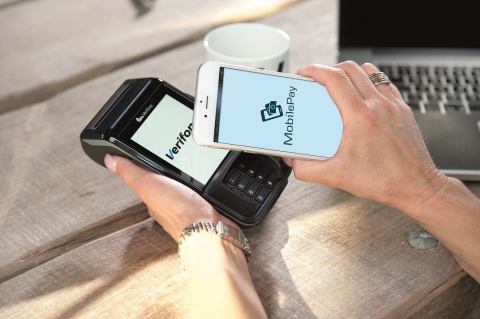 MobilePay Live in Denmark and Coming to Merchants in Finland and Norway through Verifone Platform (Photo: Business Wire)
