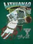 Original 1992 Skullman ® Lithuanian Slam Dunking Skeleton ® Jerseys reissued for 25th Anniversary as Special 2017 Collector's Edition available from Skullman.com (1992 Copyright © & ® Trademarks of Greg Speirs / Licensor.) (Photo: Business Wire)