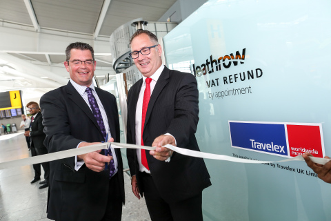 The opening of VAT Refund by Appointment at Heathrow (Photo: Business Wire)