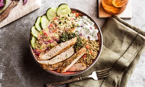 NEW Mediterranean Salad Trio Bowl (Photo: Business Wire)