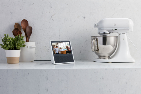 Check in on the next room using the Vivint Ping indoor camera. (Photo: Business Wire)