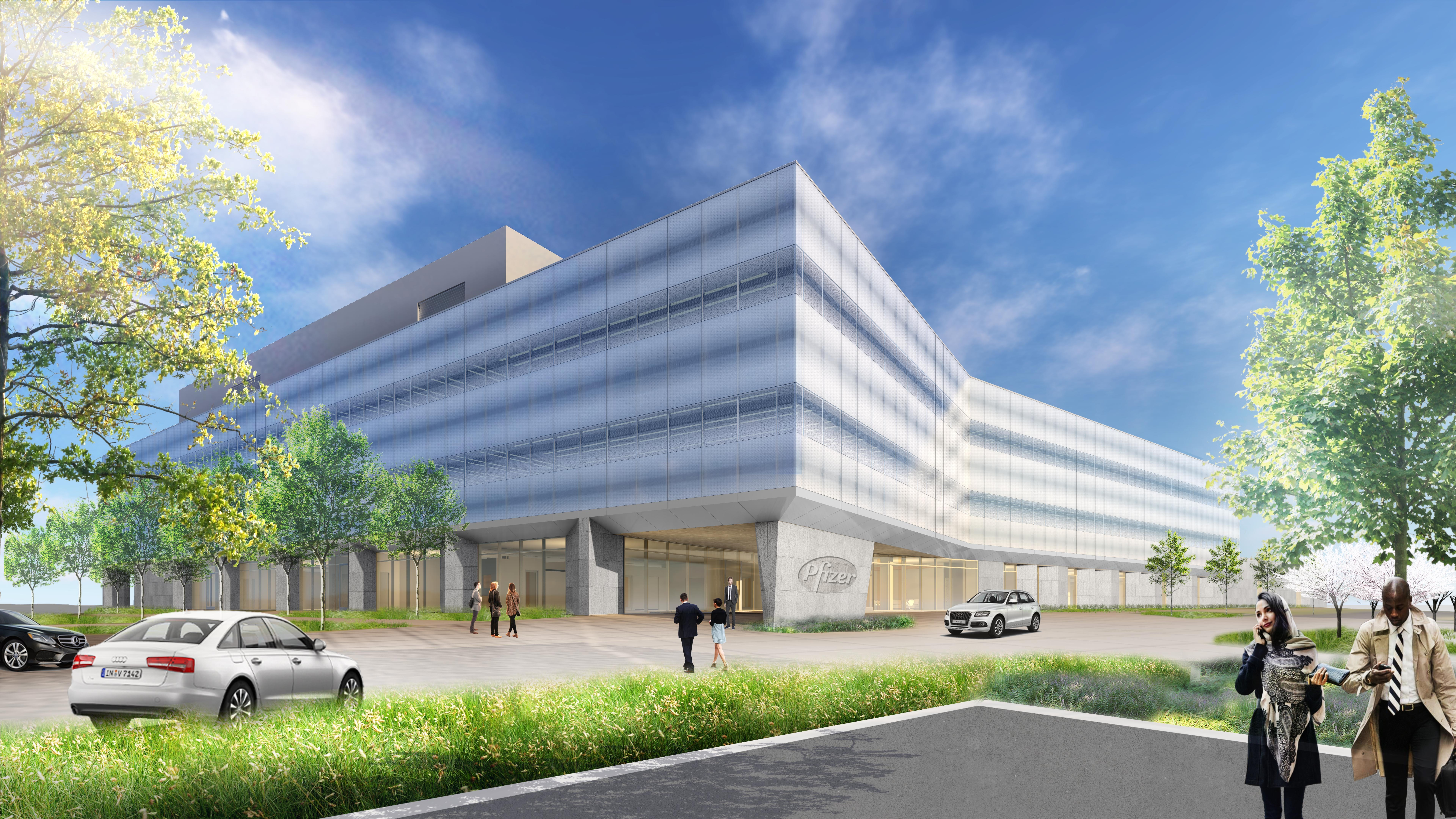 Pfizer R&D Facility Site Rendering (Photo: Business Wire)