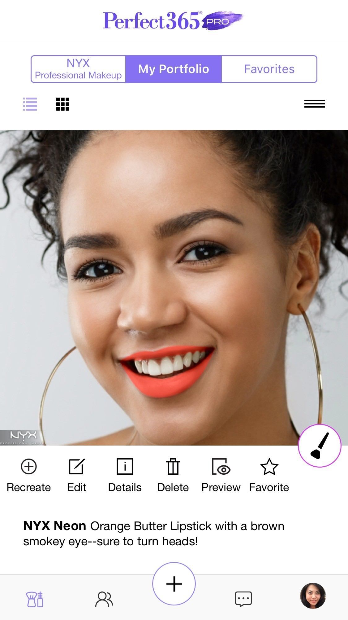 Perfect365 PRO, the first and only beauty platform for professional makeup artists and their clients. (Photo: Business Wire)