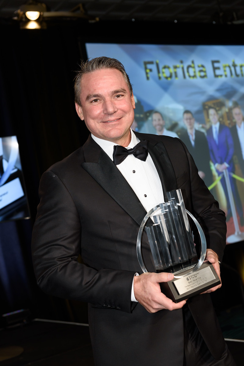 Brett Beveridge, CEO of The Revenue Optimization Companies, wins Ernst & Young Entrepreneur of the Year 2017 Florida Awards (Photo: Business Wire)