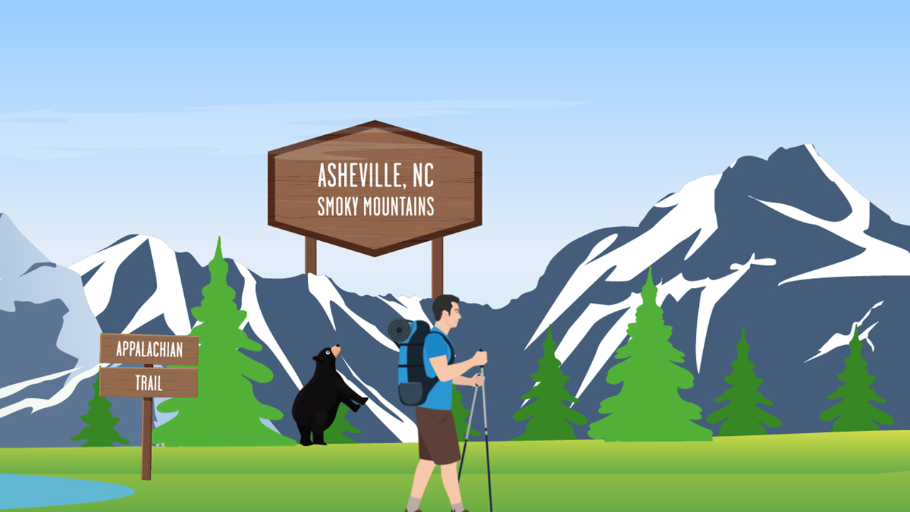 From Asheville to Flagstaff, there are Hampton by Hilton properties conveniently located near many of America's greatest outdoor trails.