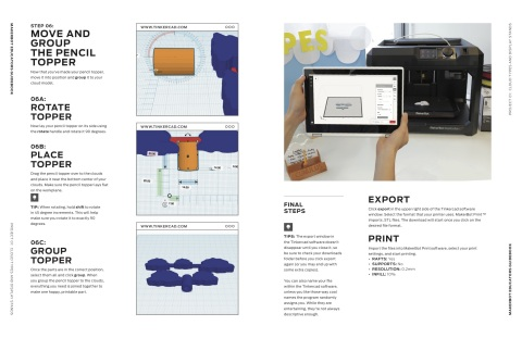 Project #1 in the MakerBot Educators Guidebook, available now. (Photo: Business Wire)