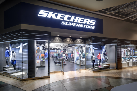 SKECHERS premium superstore at Ontario Mills (Photo: Business Wire)